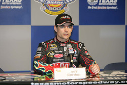Dickies 500 pole winner Jeff Gordon