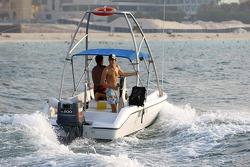 Jenson Button in Dubai