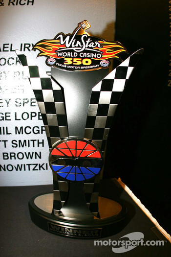 WinStar World Casino 350 Trophy