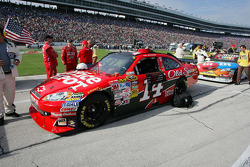 Tony Stewart's, Stewart-Haas Racing Chevrolet waits on pit lane