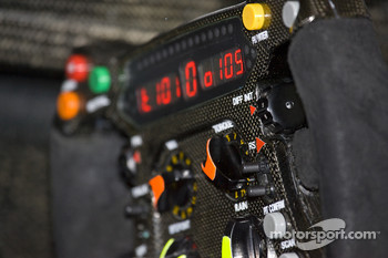 Brawn GP steering wheel
