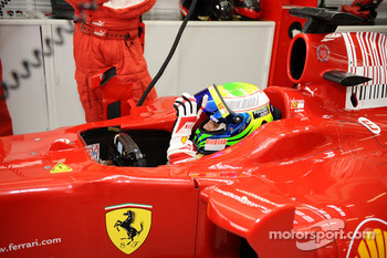 F1 exhibition: Felipe Massa