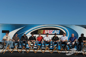 Mike Bliss, Jason Leffler, Brad Keselowski, Carl Edwards, Kyle Busch, Ron Hornaday, Matt Crafton, Mike Skinner, Todd Bodine and Johnny Sauter answer fan questions