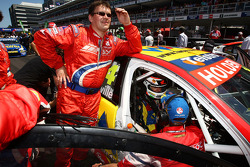 Cameron McConville prepares for the final V8 Supercar race of his career