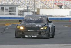 #69 SpeedSource Mazda RX-8: Emil Assentato, Nick Longhi, Jeff Segal, Sylvain Tremblay