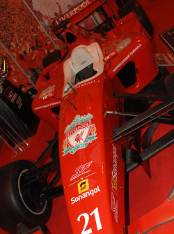 Liverpool FC Super League Formula Car