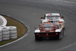 #20 Matt Connolly Motorsports Porsche GT3: Christophe Lapierre, Jos Menten, Markus Palttala, Oskar Slingerland, #60 Michael Shank Racing Ford Riley: Burt Frisselle, Oswaldo Negri, John Pew, Mark Wilkins