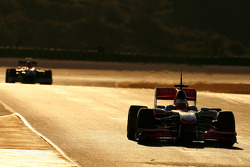 Gary Paffett, Test Driver, McLaren Mercedes and Michael Schumacher, Mercedes GP