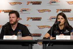 JR Motorsports press conference: Dale Earnhardt Jr. and Danica Patrick