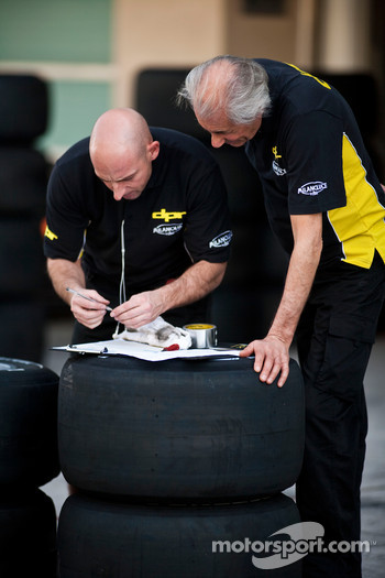 DPR engineers work with Bridgestone tyre's