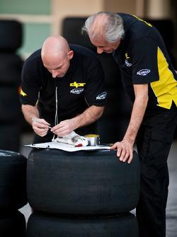 DPR engineers work with Bridgestone tyre's