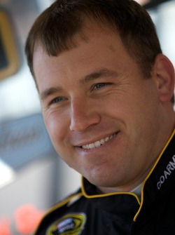 Ryan Newman, Stewart-Haas Racing Chevrolet talks to the media