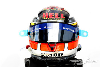Nico Hulkenberg, Williams F1 Team helmet