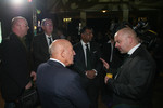 Sir Stirling Moss, Tony Fernandes, Malaysia Racing Team Principal and Mike Gascoyne, Lotus F1 Racing Chief Technical Officer