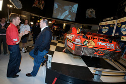 Champion's breakfast: 2010 Daytona 500 winner Jamie McMurray with team owner Chip Ganassi