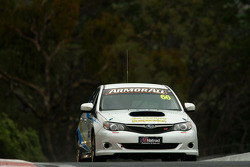#66 Jim Hunter's Suspension, Subaru Impreza WRX: Warren Bossie, Glen Featherstone, Mark Tutton