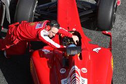 Fernando Alonso, Scuderia Ferrari detail