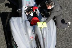 Michael Schumacher, Mercedes GP Petronas, detail
