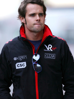 Andy Soucek, Test Driver, Virgin Racing