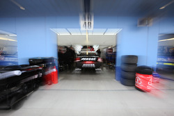Penske Racing Dodge garage area