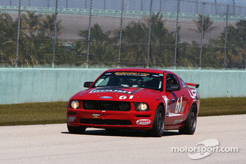 #61 Roush Performance Ford Mustang GT: Billy Johnson, Jack Roush Jr.