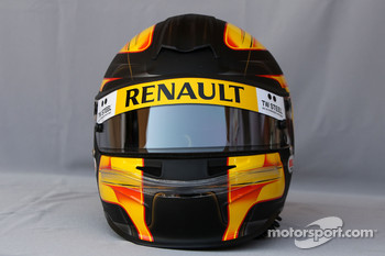 Helmet of Robert Kubica, Renault F1 Team