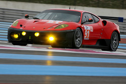 #91 CRS Racing Ferrari F430 GT: Andrew Kirkaldy, Tim Mullen, Nicola Larini