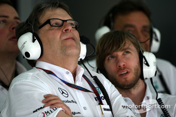 Norbert Haug, Mercedes, Motorsport chief, Nick Heidfeld, Test Driver, Mercedes GP