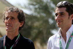 Alain Prost and his son Nicolas Prost