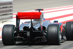 Jenson Button, McLaren Mercedes wing and diffuser