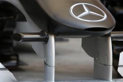 Mercedes GP, detail