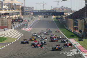 Start of Bahrain GP, 2010
