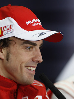 Press conference: race winner Fernando Alonso, Scuderia Ferrari
