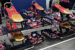 Scuderia Toro Rosso, front wings