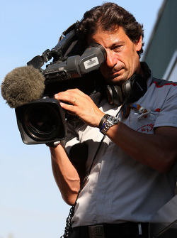 Jean Michel Tibi, TV Camerman