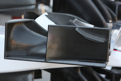 Detail, front wing end plate, BMW Sauber F1 Team