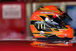 Helmet of Jamie McMurray, Earnhardt Ganassi Racing Chevrolet