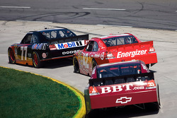 Sam Hornish Jr., Penske Racing Dodge, Juan Pablo Montoya, Earnhardt Ganassi Racing Chevrolet, Clint Bowyer, Richard Childress Racing Chevrolet