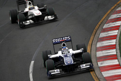 Rubens Barrichello, Williams F1 Team, Pedro de la Rosa, BMW Sauber F1 Team
