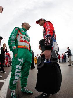 Tony Kanaan, Andretti Autosport and Ryan Hunter-Reay, Andretti Autosport