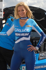 Alex MacDowall's grid girl