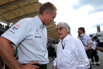 Martin Whitemash and Bernie Ecclestone