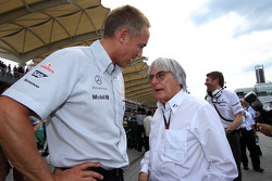 Martin Whitemash and Bernie Ecclestone