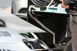 Nico Rosberg, Mercedes GP, rear, detail