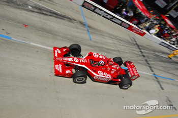 Dario Franchitti and Justin WIlson