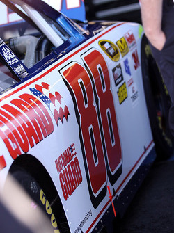 Car detail of Dale Earnhardt Jr., Hendrick Motorsports Chevrolet