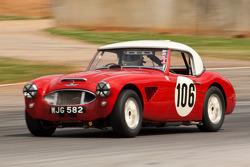 #106 1957 Austin Healey 100-6: Jim Greg