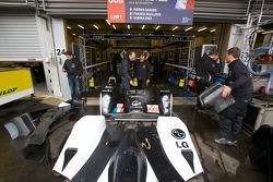 Signature Plus Lola Aston Martin pit area