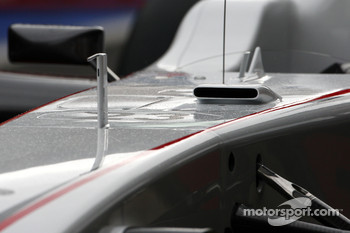 The new Sauber F-duct