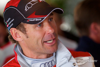Audi meet the drivers event: Tom Kristensen